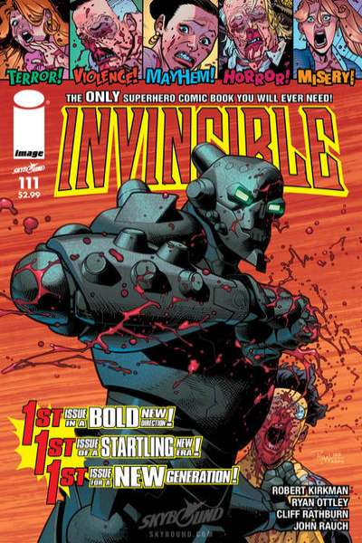 Invincible #111 comic books for sale