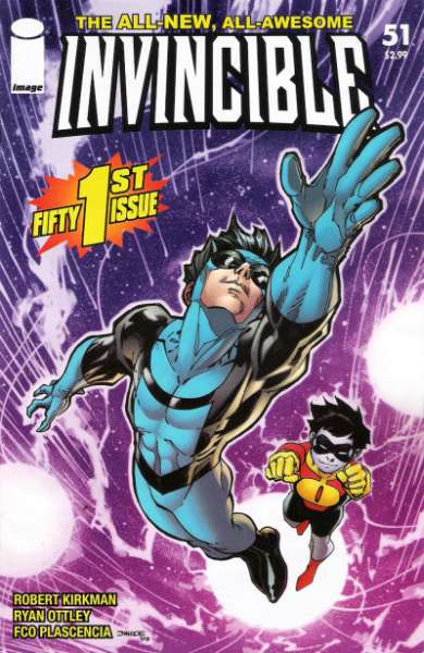 Invincible #51 comic books - cover scans photos Invincible #51 comic books - covers, picture gallery