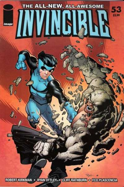 Invincible #53 Comic Books - Covers, Scans, Photos  in Invincible Comic Books - Covers, Scans, Gallery