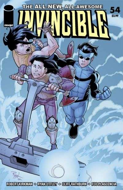 Invincible #54 Comic Books - Covers, Scans, Photos  in Invincible Comic Books - Covers, Scans, Gallery