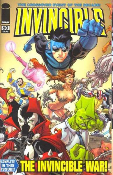 Invincible #60 Comic Books - Covers, Scans, Photos  in Invincible Comic Books - Covers, Scans, Gallery