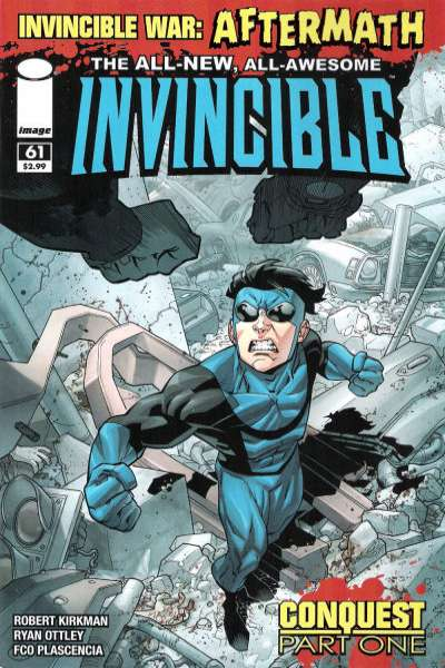 Invincible #61 Comic Books - Covers, Scans, Photos  in Invincible Comic Books - Covers, Scans, Gallery