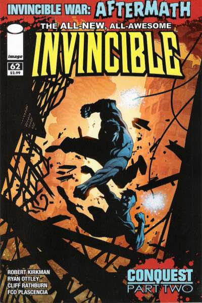 Invincible #62 comic books - cover scans photos Invincible #62 comic books - covers, picture gallery