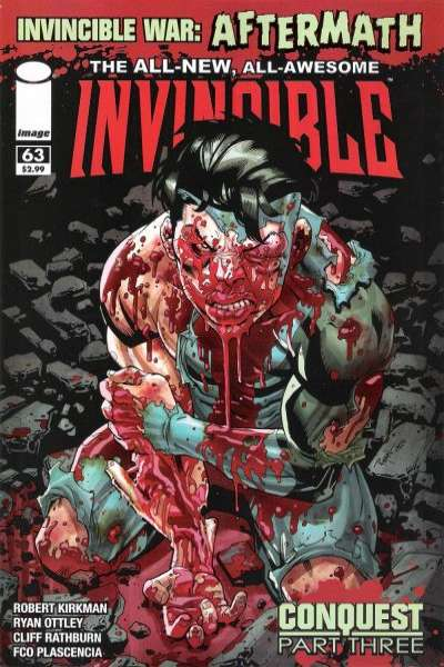 Invincible #63 Comic Books - Covers, Scans, Photos  in Invincible Comic Books - Covers, Scans, Gallery