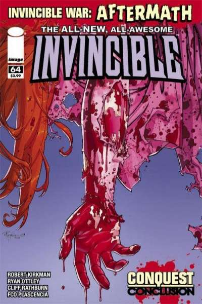 Invincible #64 Comic Books - Covers, Scans, Photos  in Invincible Comic Books - Covers, Scans, Gallery