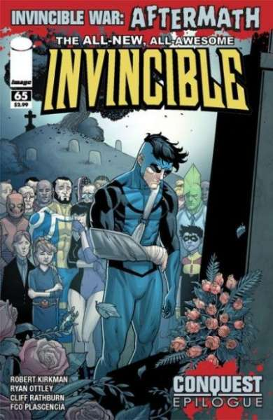 Invincible #65 comic books - cover scans photos Invincible #65 comic books - covers, picture gallery
