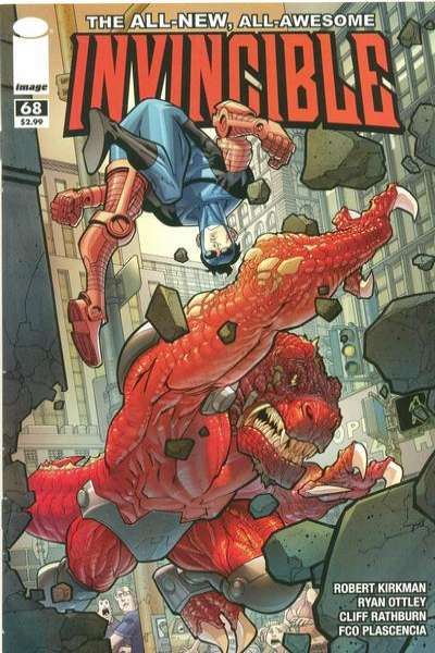 Invincible #68 Comic Books - Covers, Scans, Photos  in Invincible Comic Books - Covers, Scans, Gallery