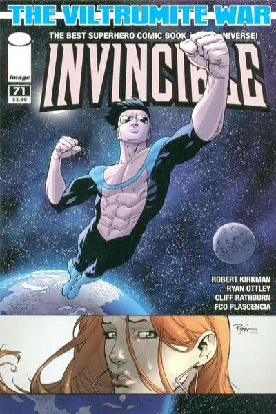 Invincible #71 Comic Books - Covers, Scans, Photos  in Invincible Comic Books - Covers, Scans, Gallery