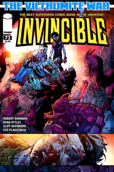 Invincible #73 Comic Books - Covers, Scans, Photos  in Invincible Comic Books - Covers, Scans, Gallery