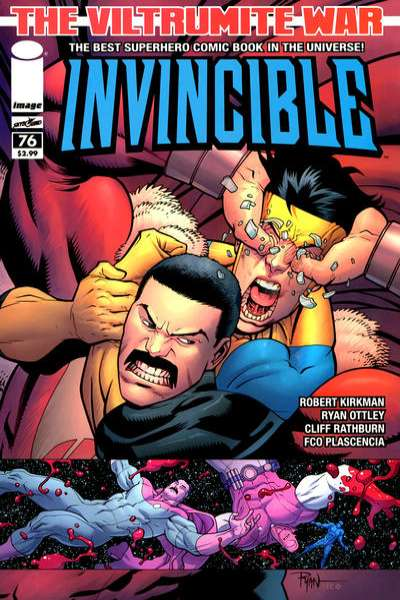 Invincible #76 Comic Books - Covers, Scans, Photos  in Invincible Comic Books - Covers, Scans, Gallery