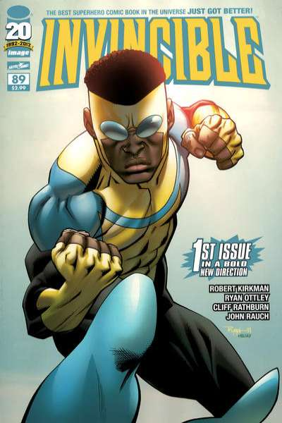 Invincible #89 comic books for sale