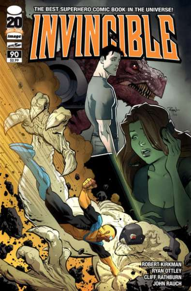 Invincible #90 comic books - cover scans photos Invincible #90 comic books - covers, picture gallery