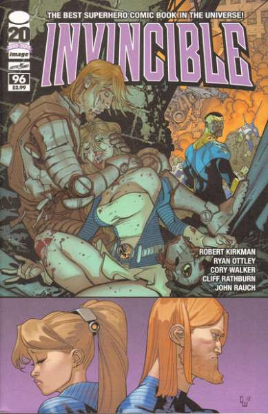 Invincible #96 Comic Books - Covers, Scans, Photos  in Invincible Comic Books - Covers, Scans, Gallery