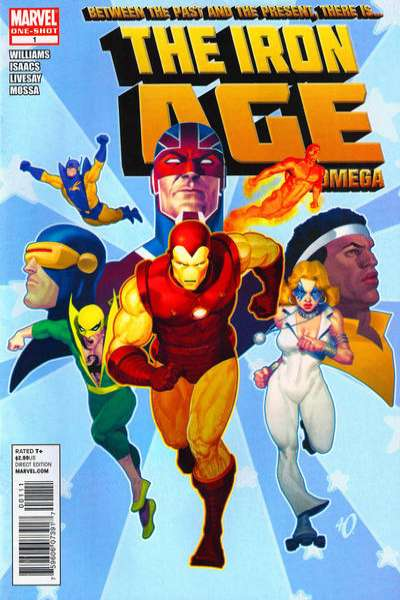 Iron Age: Omega #1 comic books - cover scans photos Iron Age: Omega #1 comic books - covers, picture gallery