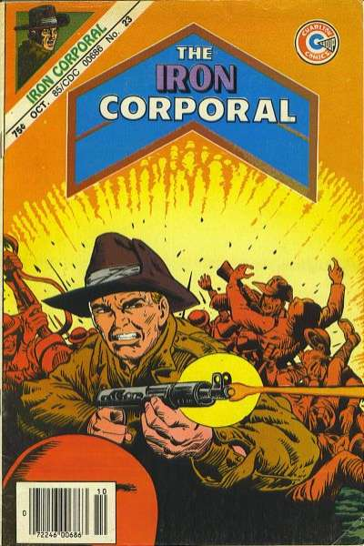 Iron Corporal #23 comic books for sale