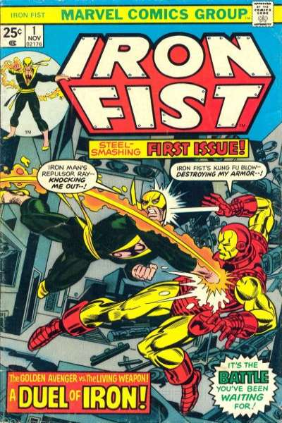 Iron Fist comic books