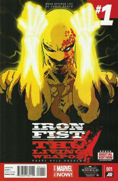 Iron Fist: The Living Weapon #1 Comic Books - Covers, Scans, Photos  in Iron Fist: The Living Weapon Comic Books - Covers, Scans, Gallery