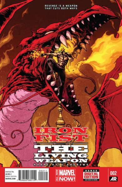 Iron Fist: The Living Weapon #2 Comic Books - Covers, Scans, Photos  in Iron Fist: The Living Weapon Comic Books - Covers, Scans, Gallery