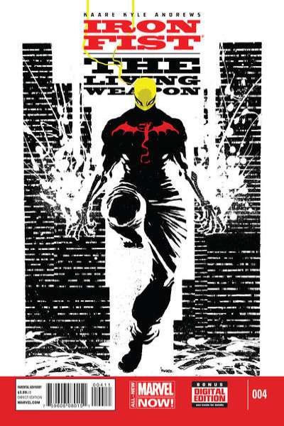 Iron Fist: The Living Weapon #4 Comic Books - Covers, Scans, Photos  in Iron Fist: The Living Weapon Comic Books - Covers, Scans, Gallery