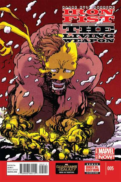 Iron Fist: The Living Weapon #5 Comic Books - Covers, Scans, Photos  in Iron Fist: The Living Weapon Comic Books - Covers, Scans, Gallery