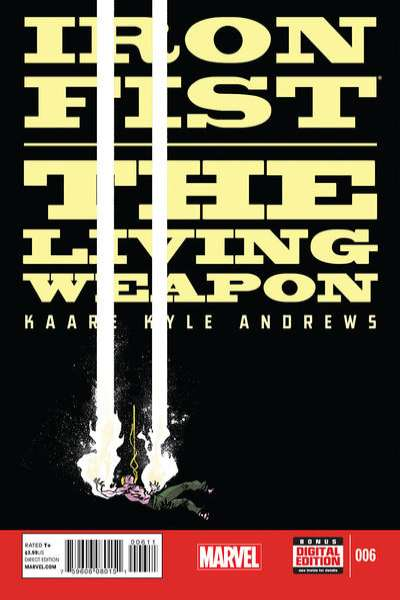 Iron Fist: The Living Weapon #6 Comic Books - Covers, Scans, Photos  in Iron Fist: The Living Weapon Comic Books - Covers, Scans, Gallery