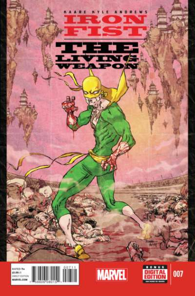 Iron Fist: The Living Weapon #7 Comic Books - Covers, Scans, Photos  in Iron Fist: The Living Weapon Comic Books - Covers, Scans, Gallery