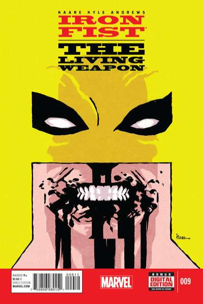 Iron Fist: The Living Weapon #9 Comic Books - Covers, Scans, Photos  in Iron Fist: The Living Weapon Comic Books - Covers, Scans, Gallery
