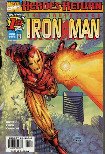 Iron Man #1 Comic Books - Covers, Scans, Photos  in Iron Man Comic Books - Covers, Scans, Gallery
