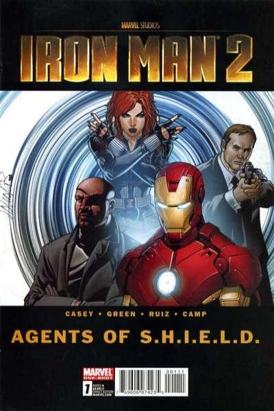 Iron Man 2: Agents of S.H.I.E.L.D. comic books