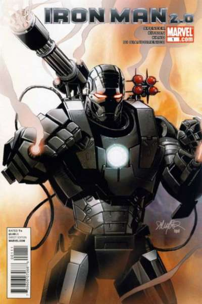 Iron Man 2.0 #1 comic books - cover scans photos Iron Man 2.0 #1 comic books - covers, picture gallery