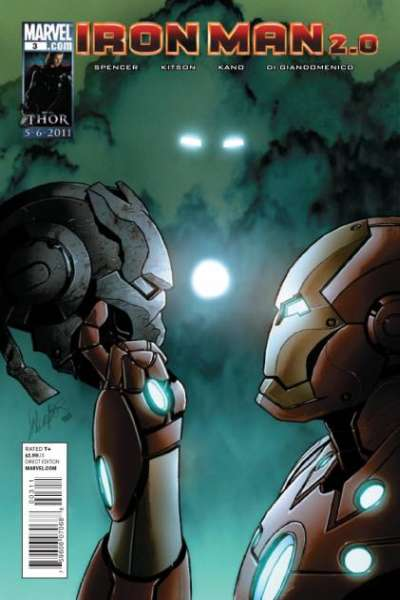 Iron Man 2.0 #3 Comic Books - Covers, Scans, Photos  in Iron Man 2.0 Comic Books - Covers, Scans, Gallery
