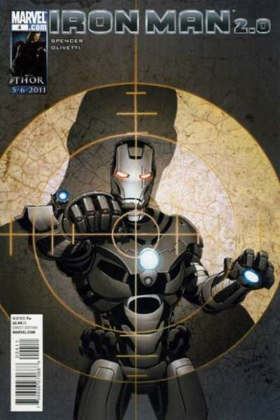 Iron Man 2.0 #4 comic books - cover scans photos Iron Man 2.0 #4 comic books - covers, picture gallery
