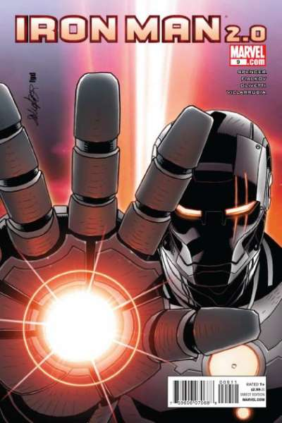Iron Man 2.0 #9 comic books - cover scans photos Iron Man 2.0 #9 comic books - covers, picture gallery