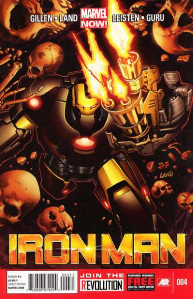 Iron Man #4 comic books for sale