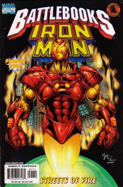 Iron Man Battlebook: Streets of Fire comic books