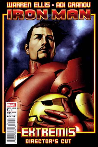 Iron Man: Extremis Director's Cut #3 Comic Books - Covers, Scans, Photos  in Iron Man: Extremis Director's Cut Comic Books - Covers, Scans, Gallery