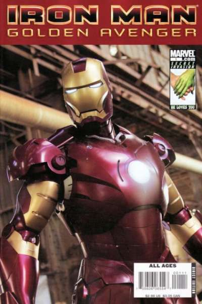 Iron Man: Golden Avenger Comic Books. Iron Man: Golden Avenger Comics.
