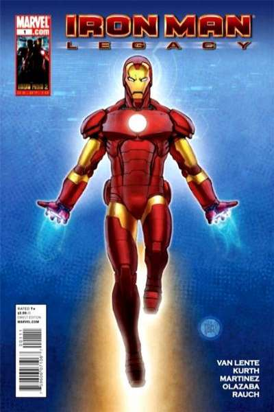 Iron Man: Legacy #1 Comic Books - Covers, Scans, Photos  in Iron Man: Legacy Comic Books - Covers, Scans, Gallery