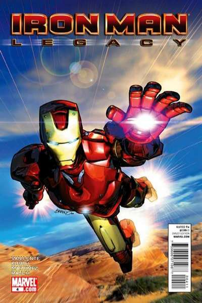 Iron Man: Legacy #4 Comic Books - Covers, Scans, Photos  in Iron Man: Legacy Comic Books - Covers, Scans, Gallery