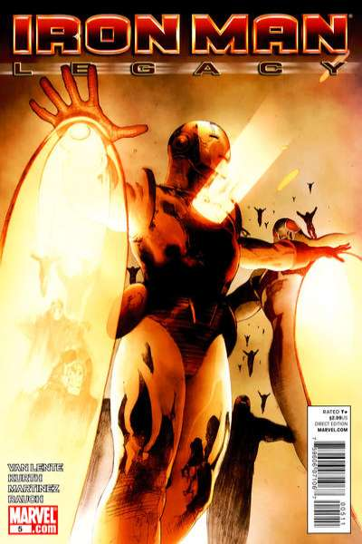 Iron Man: Legacy #5 Comic Books - Covers, Scans, Photos  in Iron Man: Legacy Comic Books - Covers, Scans, Gallery