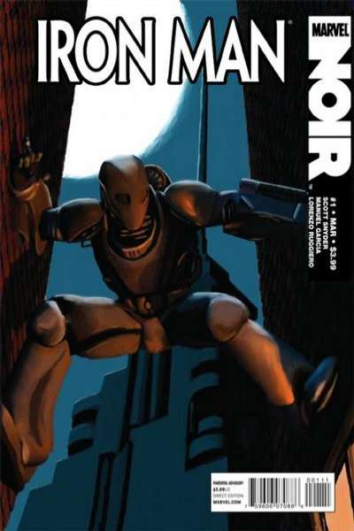 Iron Man Noir comic books