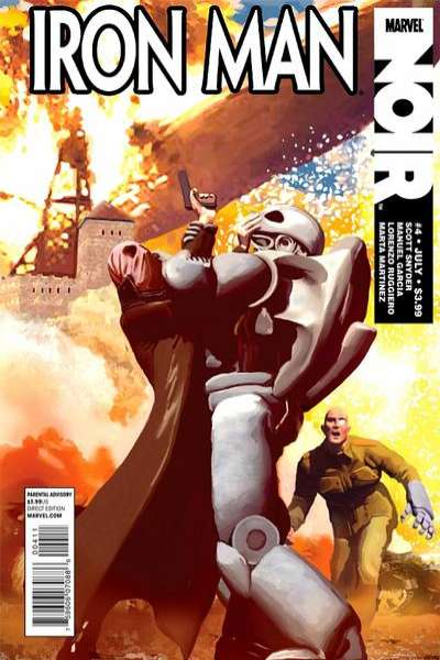 Iron Man Noir #4 comic books for sale