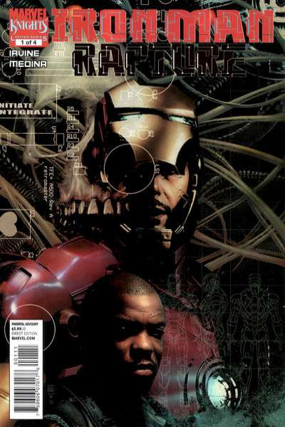 Iron Man: Rapture #1 comic books - cover scans photos Iron Man: Rapture #1 comic books - covers, picture gallery