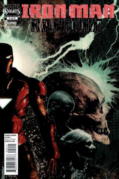 Iron Man: Rapture #2 Comic Books - Covers, Scans, Photos  in Iron Man: Rapture Comic Books - Covers, Scans, Gallery