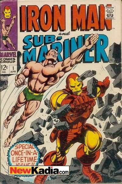 Iron Man & Sub-Mariner comic books