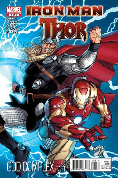 Iron Man/Thor comic books