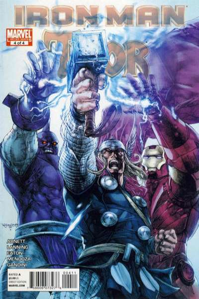 Iron Man/Thor #4 Comic Books - Covers, Scans, Photos  in Iron Man/Thor Comic Books - Covers, Scans, Gallery