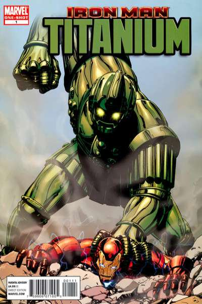Iron Man: Titanium! #1 Comic Books - Covers, Scans, Photos  in Iron Man: Titanium! Comic Books - Covers, Scans, Gallery