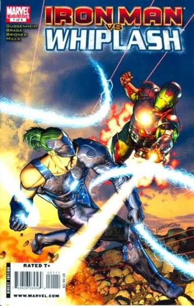 Iron Man vs. Whiplash #1 Comic Books - Covers, Scans, Photos  in Iron Man vs. Whiplash Comic Books - Covers, Scans, Gallery