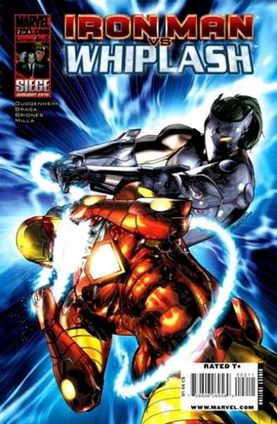 Iron Man vs. Whiplash #2 Comic Books - Covers, Scans, Photos  in Iron Man vs. Whiplash Comic Books - Covers, Scans, Gallery